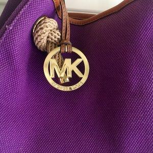 Michael Kors Bags - PURPLE MICHAEL KORS PURSE